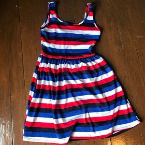 Francesca's Red White and Blue tank dress
